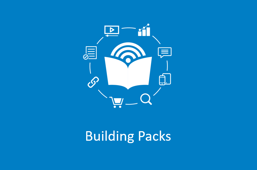 Building Packs with SharedBook